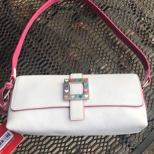Dooney and Bourke east/west flap bag nwt